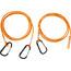 Swimrunners Hook Cord Pull Belt 3m Neon Orange